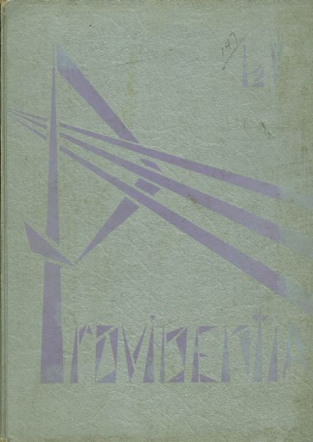 1961 Providence Academy Yearbook Cover