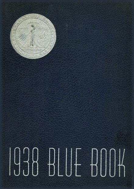 1938 Brooklyn Preparatory School Yearbook Cover
