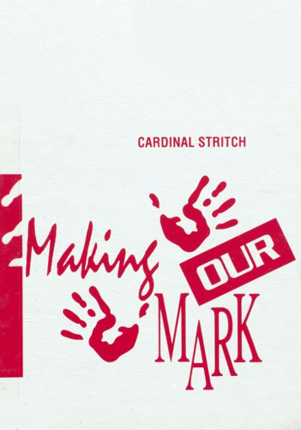1995 Cardinal Stritch High School Yearbook Cover