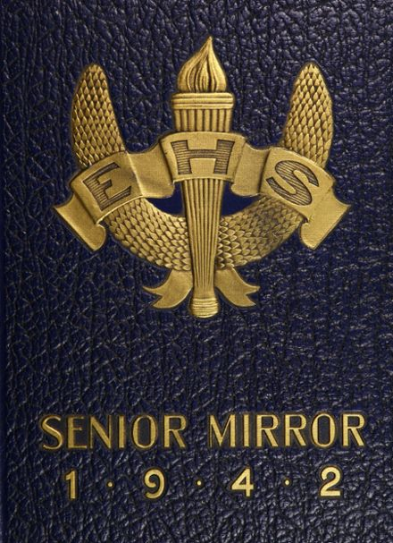 1942 Paterson Eastside High School Yearbook Cover
