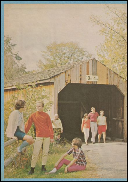 1967 Mt. Healthy High School Yearbook Page 2