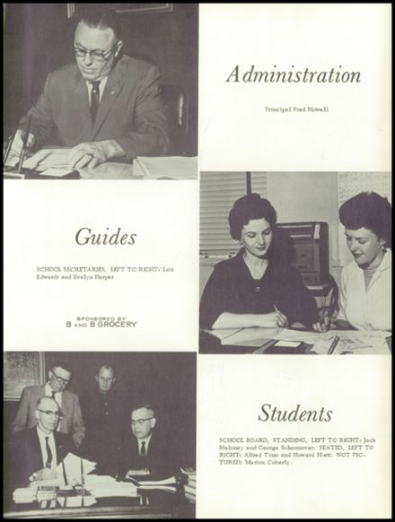 1961 Haven High School Yearbook Page 7