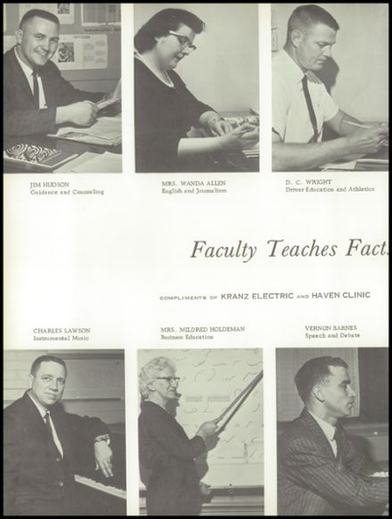 1961 Haven High School Yearbook Page 8