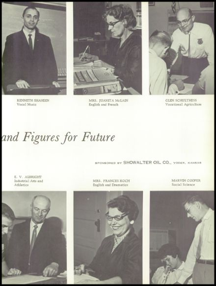 1961 Haven High School Yearbook Page 9